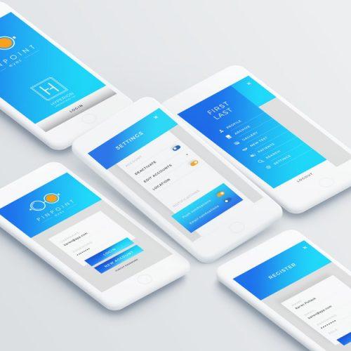 PinpointEyes App - Novel Smartphone Application